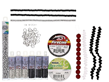 Picture of Contessa Beadweaving Kit incl Beads, Findings, Thread & Wire Protectors