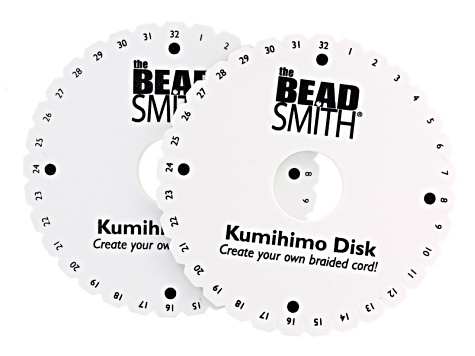 Kumihimo Disk & Supply Kit incl Single And Double Density Disks ...