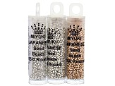 Seed Bead Assorted Mega Mix incl 6/0, 8/0, 11/0 And 15/0 Miyuki & Other Seed Beads