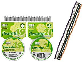 Kumihimo Flexrite, Beads And Findings Supply Kit