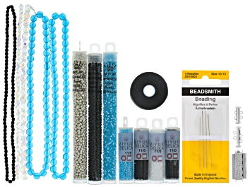 Picture of Snowflake Loom Ornament Supply & Project Kit