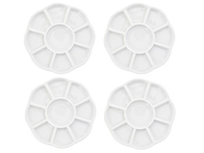 Ceramic Bead Tray With 9 Compartments Set Of 4