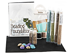 Get Started With Bead Embroidery in Marvelous Metallics Supply And Project Kit