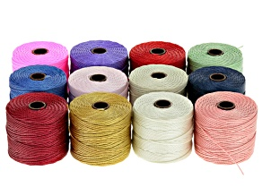 12 Pack S-Lon Tex 210 Cord in Spring Trend And Neutral Colors