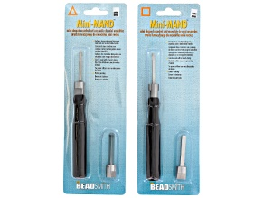 4-Piece Mandrel Set With Handles incl 3mm & 5mm Round And 3mm & 5mm Square