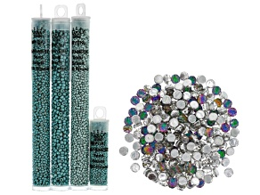 Baroque Beading Kit in Glowing Seafoam