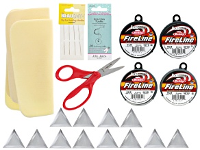 Complete Notions Supply Kit For Seed Beaders