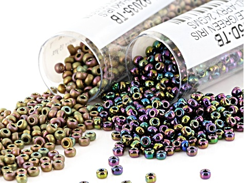 Bead Embroidery Basics & Beyond Supply Kit Beading Foundation, Beads, Glue, Ultrasuede and Needles