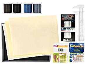Bead Tray, Needles, Thread and Notions Stock Up Kit