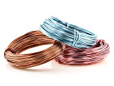Aluminum Wire 12G & 18G Set of 7 each Appx 39 Feet in length