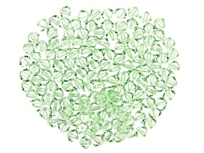 Chrysolite Color Swarovski® Crystal Bicones appx 4mm Beads appx 144 pieces total