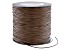 Brown P'leather Cord 1mm Spool 150 yards in length