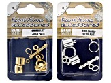 Kumihimo for Beginners Kit Includes Booklet, Disc, Rattail, and Findings