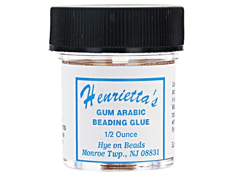 Gum Arabic Bead Knot Glue Appx .5oz