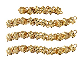 Magnetic Clasp Kit in Gold Tone Appx 36 Pieces Total