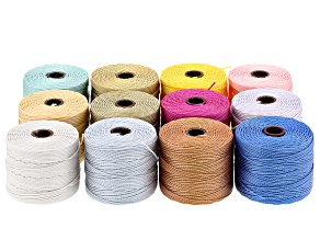S-Lon Cord Tex 210 Set of 12 in Assorted Colors
