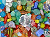 Family Fun Jewelry Product Czech Glass Beads 1/2lb Bag in