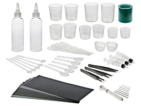Resin Starter Tool Kit 49 Pieces Total