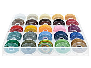 Waxed Jewelry Cord in Assorted Colors 25 Spools Total
