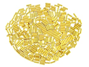 Tube Kit in Gold Tone Appx 400 Pieces Total