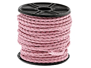 Round Cotton Bolo Cord in Pink Appx 2mm in Diameter Appx 10m in length