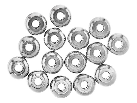Stainless Steel Findings Kit Includes Jump Rings, Head Pins, Beads, and Crimps Appx 708 Pieces Total