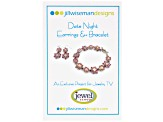 Pink Earrings And Bracelet Kit By Jill Wiseman