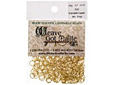 Bright Aluminum Silver Color And Enameled Copper Gold Color Chain Maille Ring Supply Kit