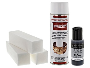 Finishing Kit incl Buffing Blocks, Liver Of Sulfer Gel & Protectaclear Spray