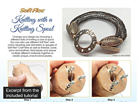 Knitting Spool Kit