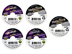 Softflex Extreme Wire .014 Diameter in Assorted Colors 50 ft Total