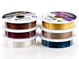 "Softflex Extreme 19-Strand and 49-Strand .019"" Diameter In 6 Colors 10 Ft Each"