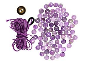 Amethyst Woven Bracelet 7