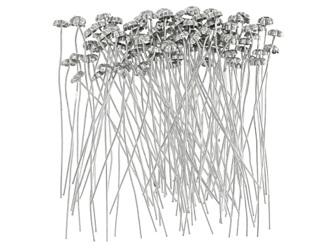 Flower Headpins appx 5mm and appx 2