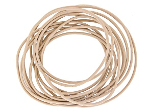 Leather Cord 1.5mm 2 Meter Pack in Petal