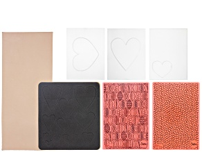 Embossing Bundle with Diffuser, Leather and 3 Assorted Dies