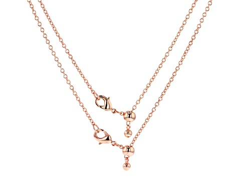 Sliding Adjustable Necklace Lobster Clasp Connector Set of 6 in Silver, Gold & Rose Tones Up To 20