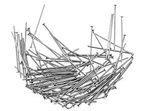 Stainless Steel Appx 20mm Headpins Appx 100 Pieces