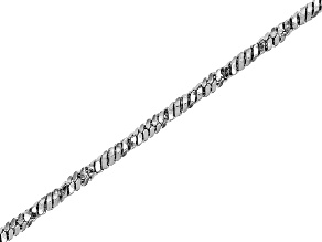 Stainless Steel Oval Unfinished Chain with Appx 1mm Links