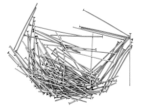 Stainless Steel Appx 30mm Headpins Appx 100 Pieces