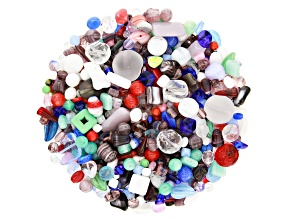 "Czech Glass Beads 1lb Bag Of Assorted Shapes And Sizes in ""Energy"""
