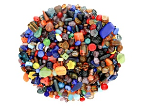 "Czech Glass Beads 1lb Bag Of Assorted Shapes And Sizes in ""Camping Trip"""