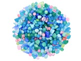 Czech Glass Beads 1/2lb Bag Of Assorted Shapes And Sizes in Pastel Colors