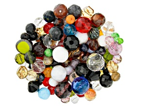 "Czech Glass Beads 1lb Bag Of Assorted Shapes And Sizes in ""Bold and Beautiful"""