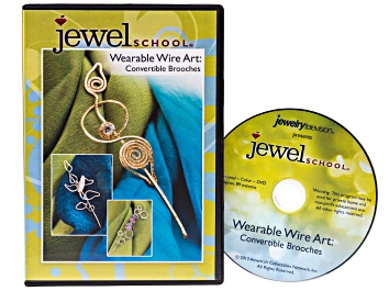 Picture of Jewelry Making Wearable Wire Art - Convertible Brooches DVD