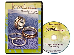 Jewel School DVD Series 5 Vol 1 Manipulating Metal: Soldered Rings