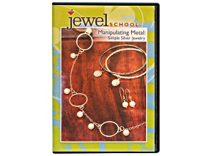 Jewel School DVD Series 5 Vol 2 Manipulating Metal: Simple Silver Jewelry
