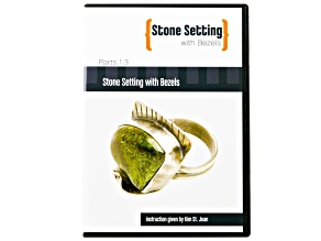 Stone Setting With Bezels 3 Part DVD Series Set instruction By Kim St. Jean