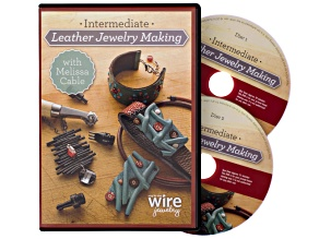 Intermediate Leather Jewelry Making With Melissa Cable