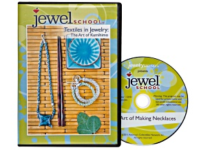 Textiles in Jewelry: The Art Of Kumihimo DVD By Anne Dilker Apx 76 Min 3 Project